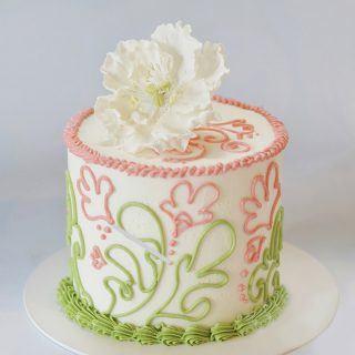 Easy buttercream recipe by Liz Marek on Sugar Geek Show cake tutorials