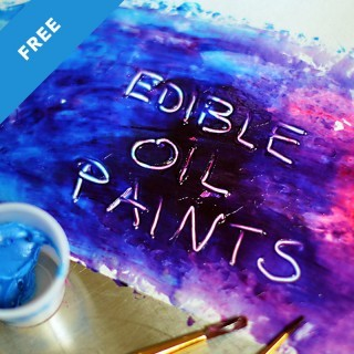 Edible Oil Paints