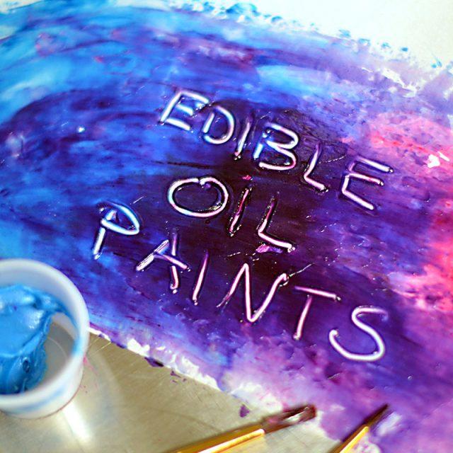 Edible Oil Paints Recipe