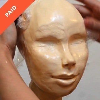 Face Sculpting with Modeling Chocolate