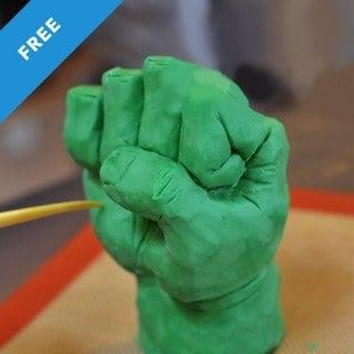 Hulk Fist Sculpting Tutorial