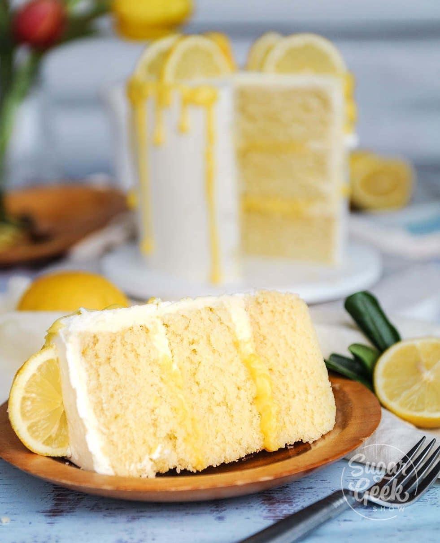 Lemon Cake Recipe from Scratch + video tutorial | Sugar Geek Show