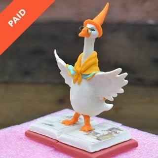 Mother Goose Topper