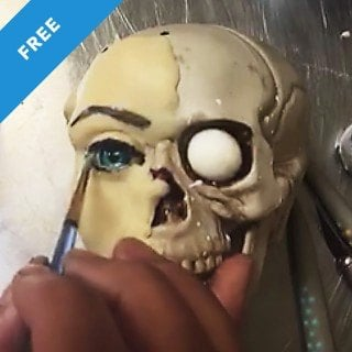 Realistic Painted Eyes Tutorial Periscope Broadcast