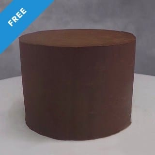 Sharp Corners and Edges on Ganache