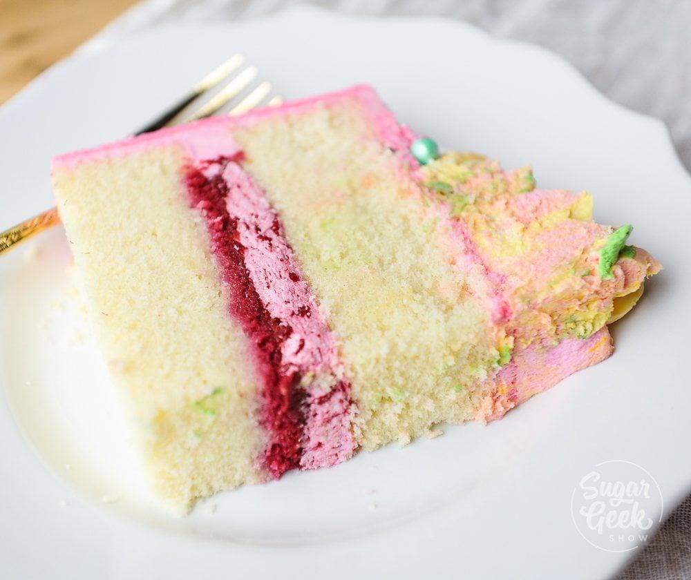 The Best Vanilla Cake Recipe (Updated 2019)   Sugar Geek Show