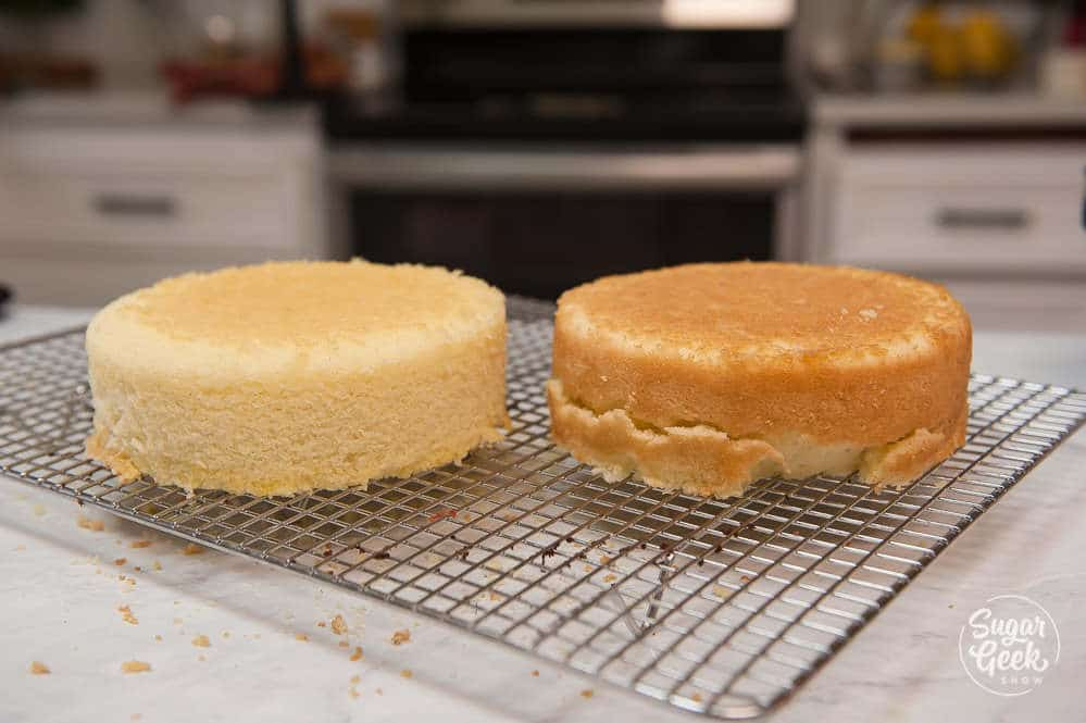 using baking strips with vanilla cake recipe