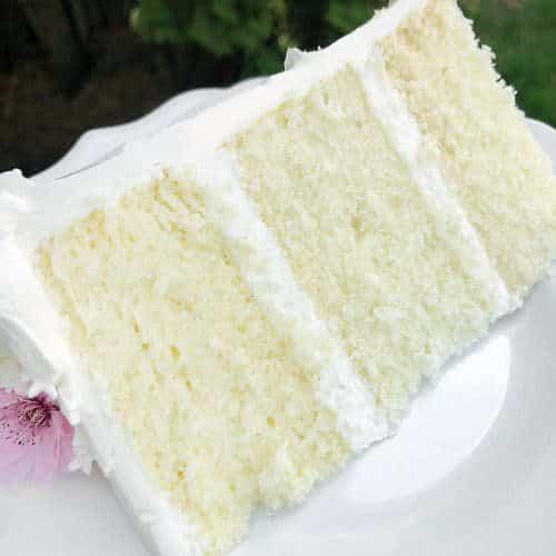 Moist Vanilla Cake From Scratch Video Tutorial Sugar Geek Show