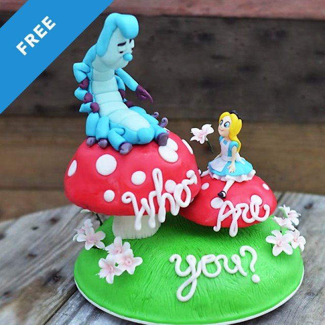 Who Are You Gender Reveal Cake