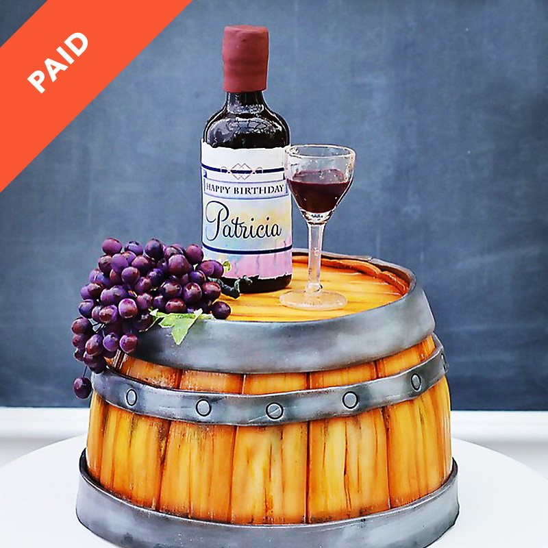 How To Make A Barrel Cake