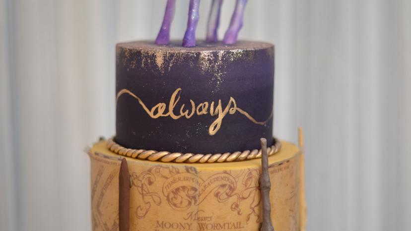 Harry Potter Wedding Cake Sugar Geek Show