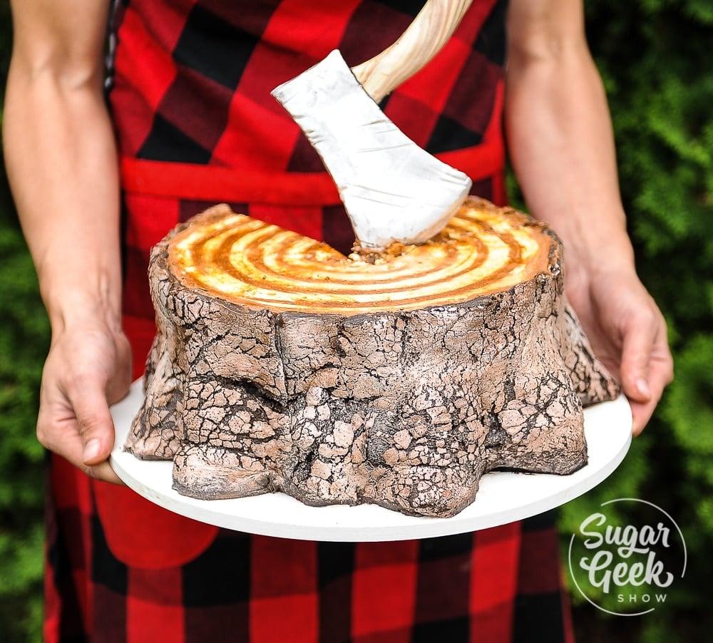lumberjack cake sugar geek show