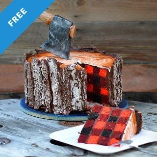 lumberjack cake tutorial