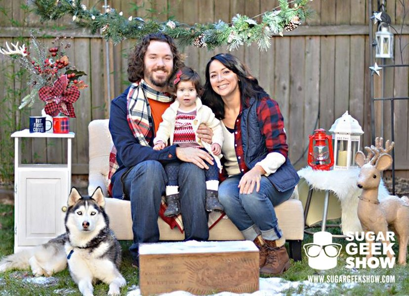 lumberjack christmas card