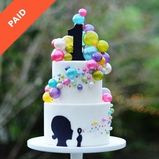 Bubble Cake Tutorial