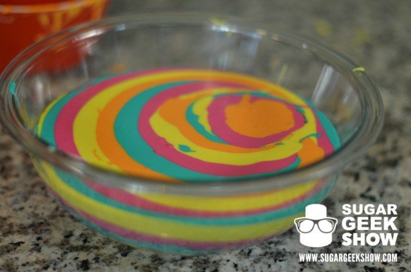 Rainbow Chocolate Ganache