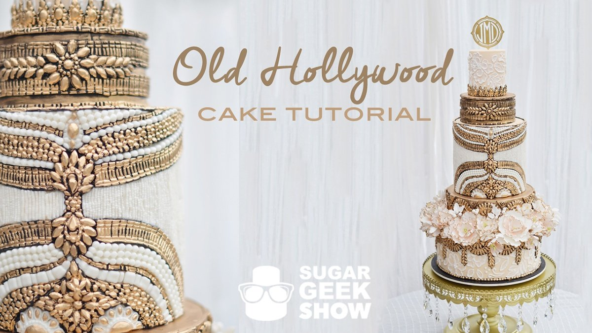 Get Your Glamour On   Sugar Geek Show. Old Hollywood Wedding Cakes. Home Design Ideas