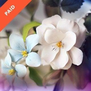 Open Rose Gumpaste Sugar Flower Tutorial