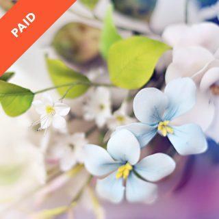 Garden Flowers and Jasmine Sugar Flower Tutorial