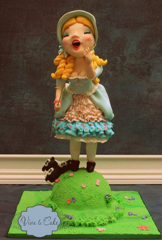 Little Bo Peep Cake