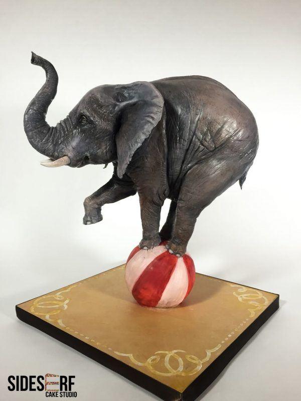 Elly the Elephant Cake
