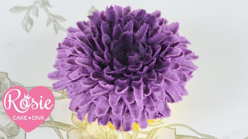 Buttercream Chrysanthemum