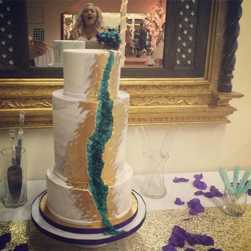 Sarah Myers Geode Cake
