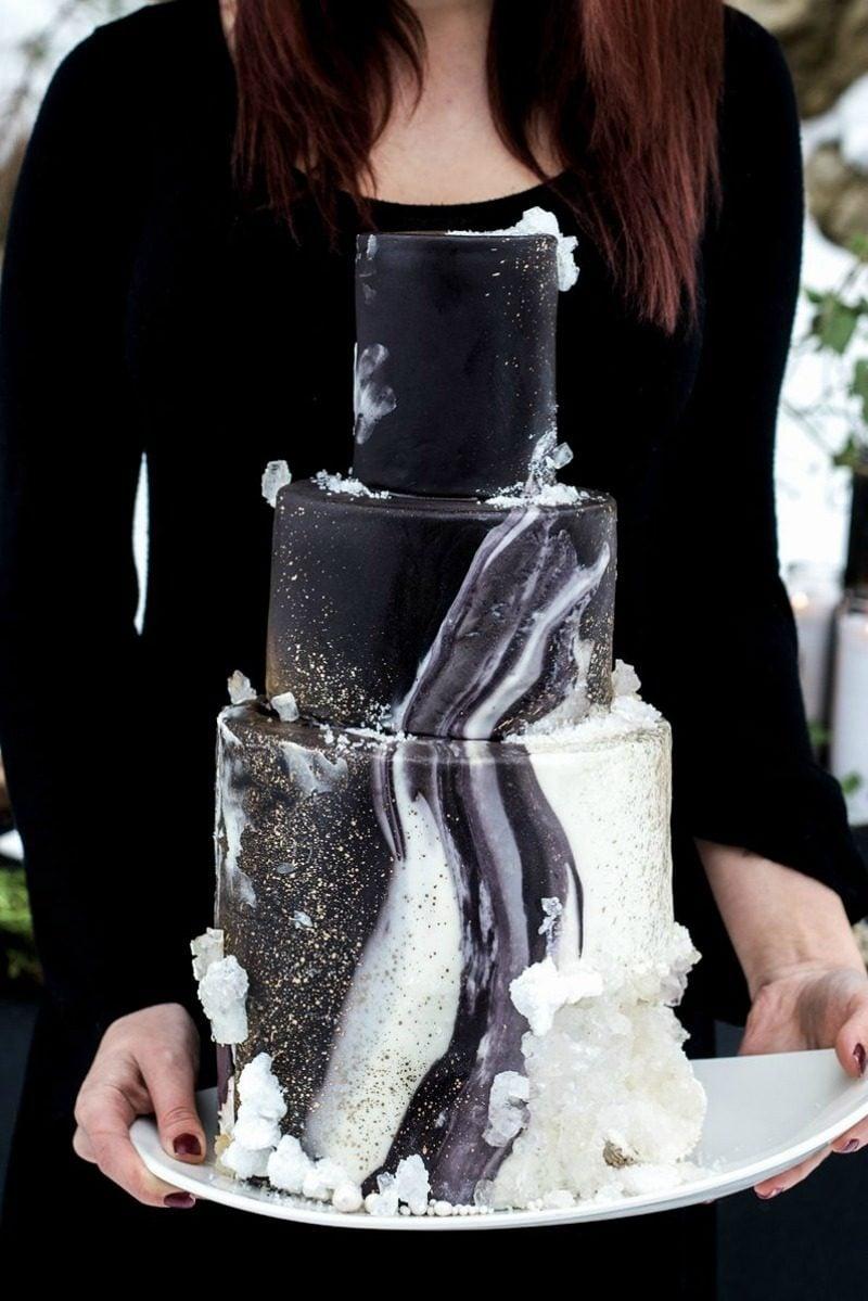 Christine Leaming Geode Cake