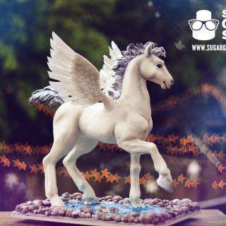 Baby Pegasus Cake