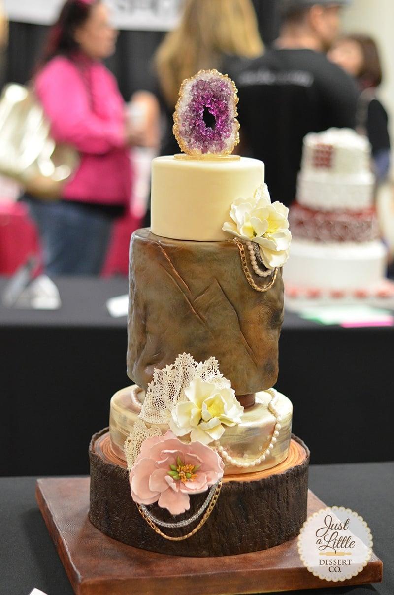 Viki Kane Geode Cake