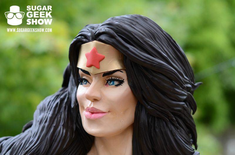 Wonder Woman Bust Cake