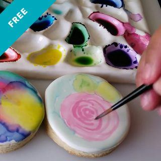 Edible Watercolor