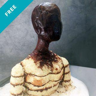 Female Bust Cake Mini Tutorial Free Class