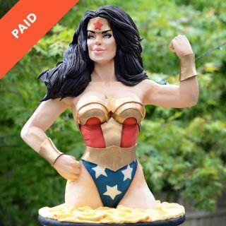 Wonder Woman Cake Tutorial Square Thumbnail