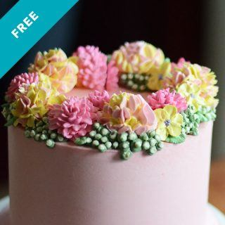 buttercream flowers cake tutorial with guest instructor danette short