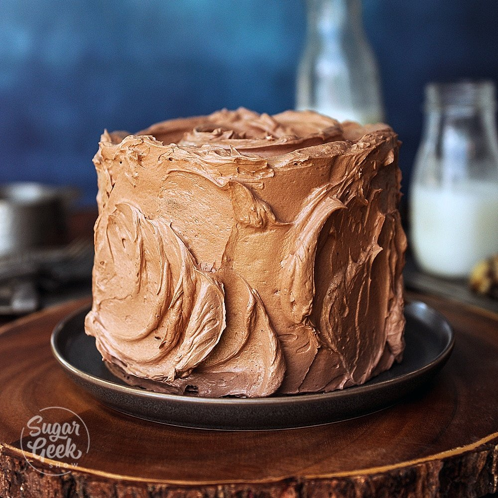 chocolate cake recipe with chocolate buttercream