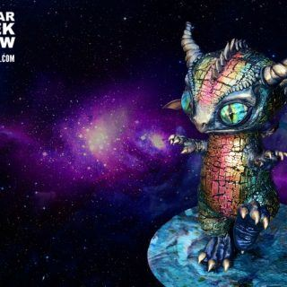 Space Dragon Cake
