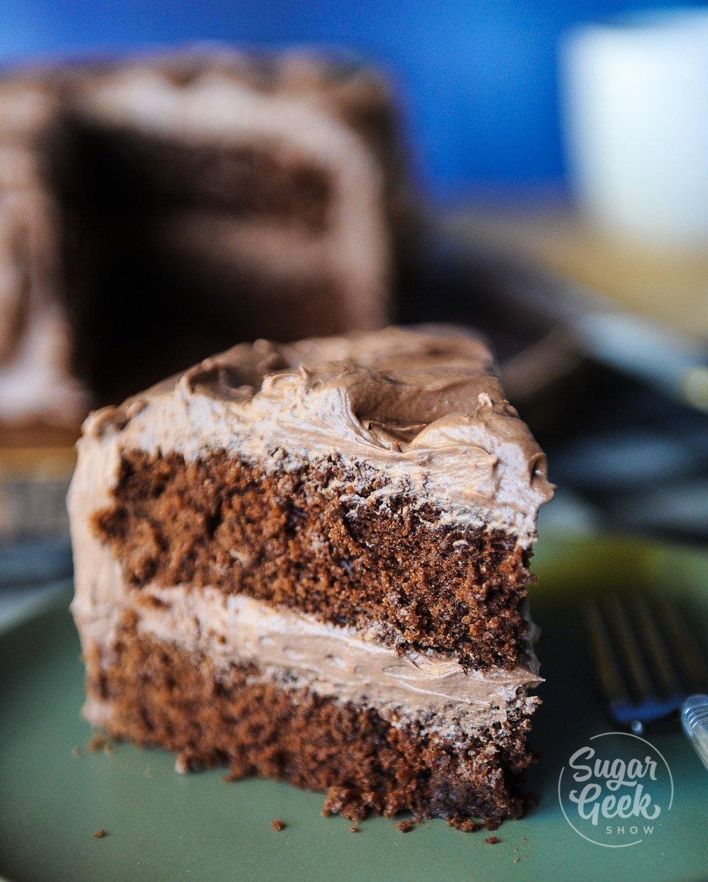How To Make A Box Cake Taste Like A Wedding Cake.Chocolate Wasc Doctored Cake Mix Sugar Geek Show
