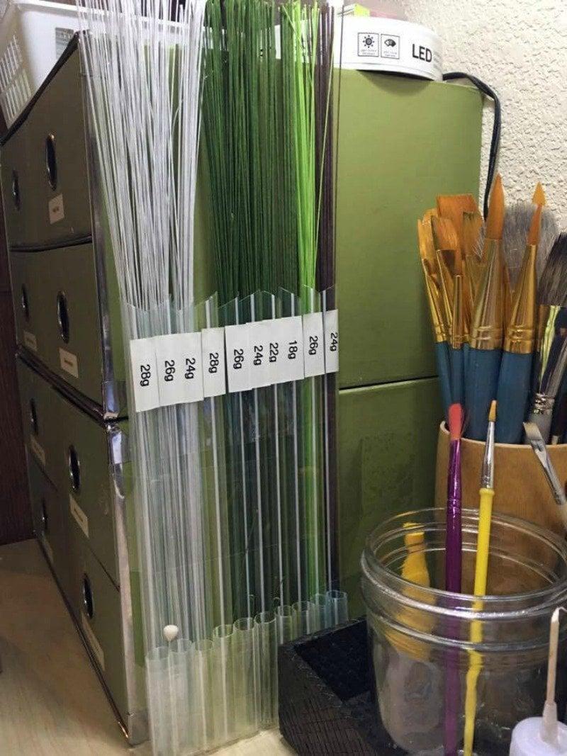 Bubble Tea Straws Organize Wires