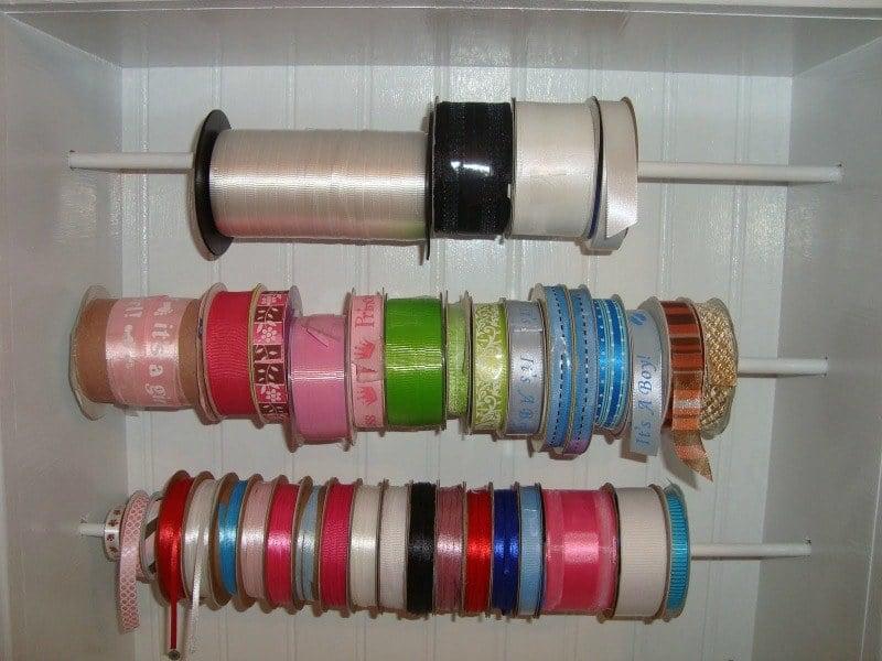 organize ribbon