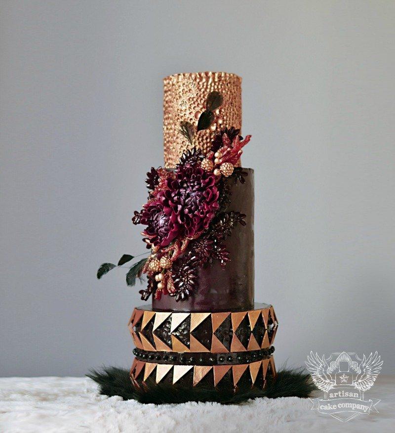 Dark Marsala Cake