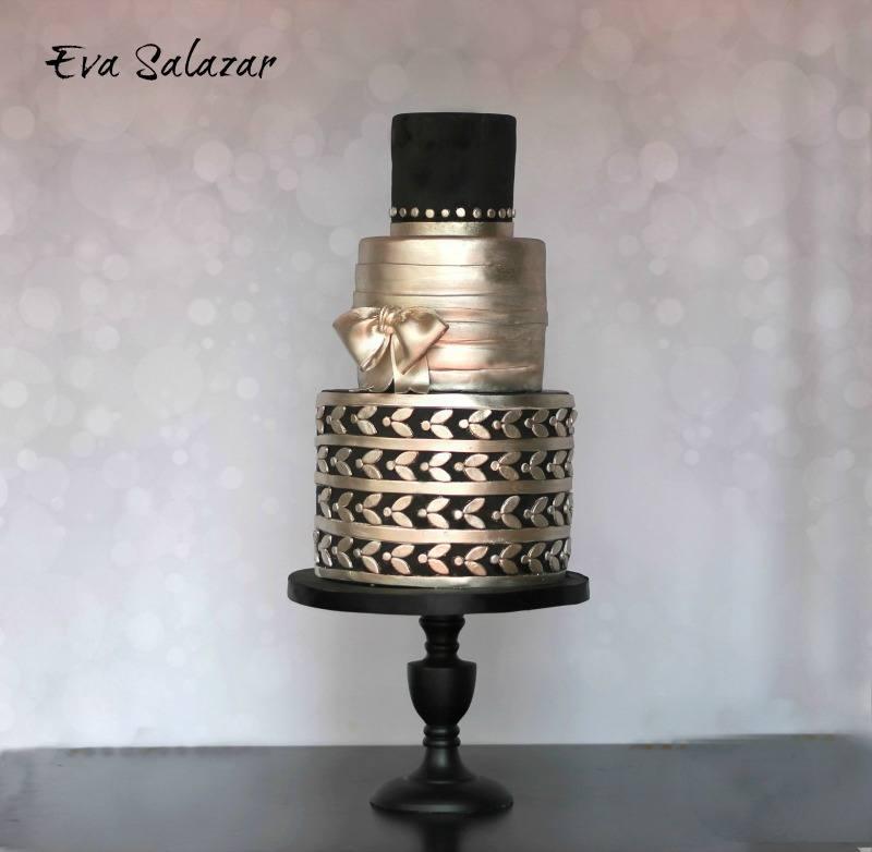 dark platinum cake