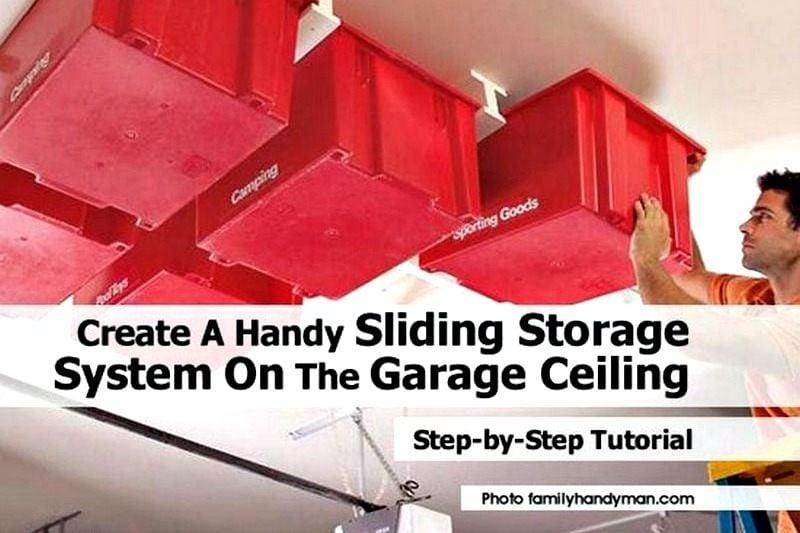 sliding storage system