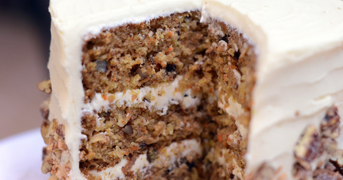 Carrot Cake With Pineapple Amp Cream Cheese Frosting Sugar