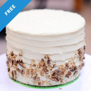 Moist Carrot Cake Cream Cheese Buttercream