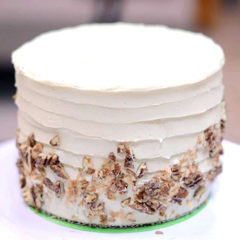 Crusting Cream Cheese Cake Frosting Recipe