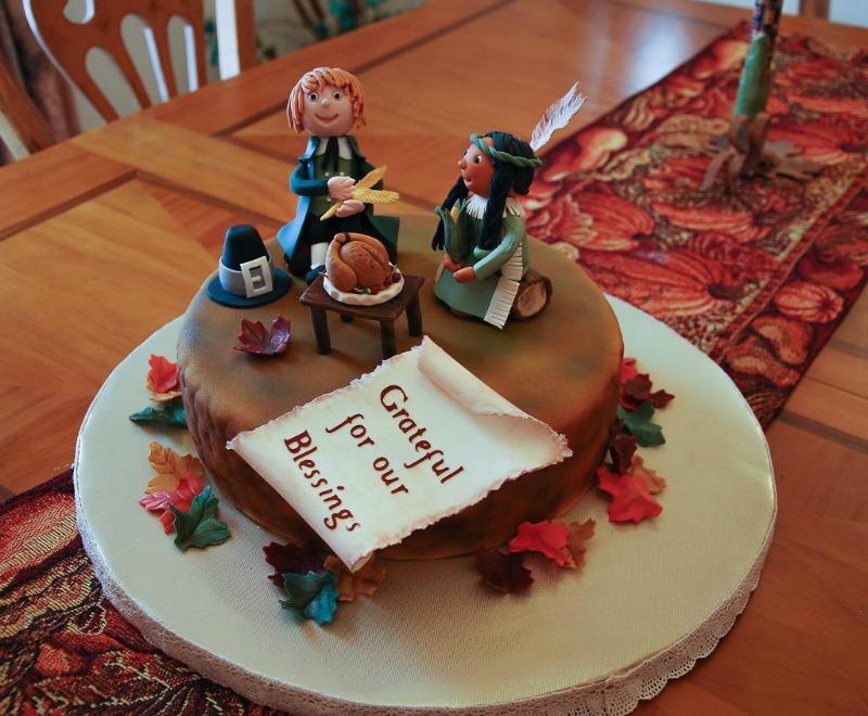 Pilgrim Indian Cake