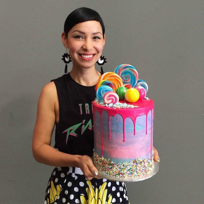 Katherine Sabbath with Drip Cake