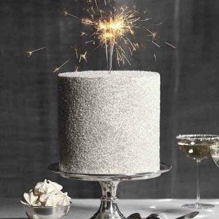 Sparkler Glitter Cake
