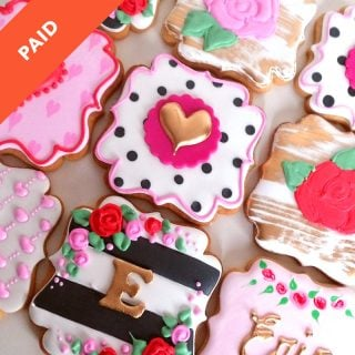 Kate Spade Sugar Cookie Tutorial